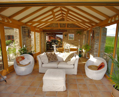 Garden room design oak conservatories for Designs for garden rooms