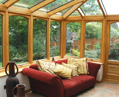 Sunrooms oak conservatories garden rooms for Sunroom garden room