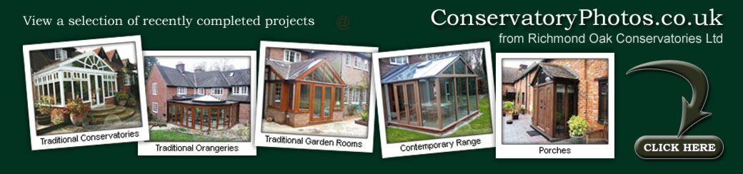 Conservatory Photos & Orangery Photos from Richmond Oak Conservatories