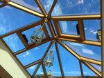 Richmond Oak Conservatory Glass