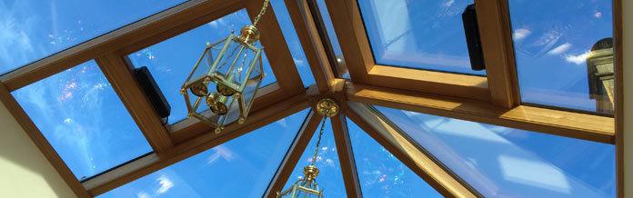 Conservatroy Glass - Richmond Oak