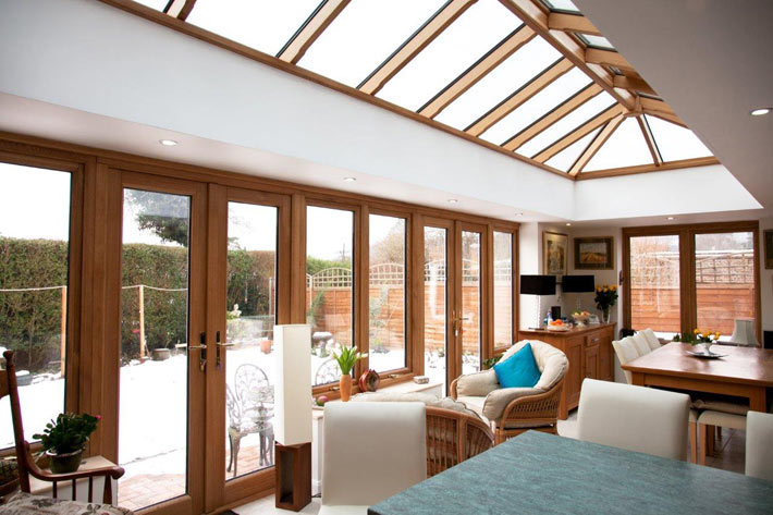Wooden Orangery - Keeping Warm in the Winter