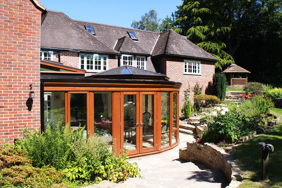 Bespoke Hardwood Orangery Design in Surrey