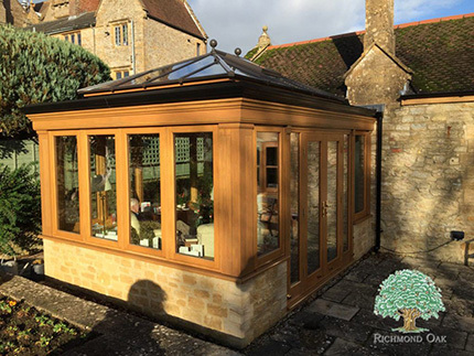 Chant Oak Orangery listed property