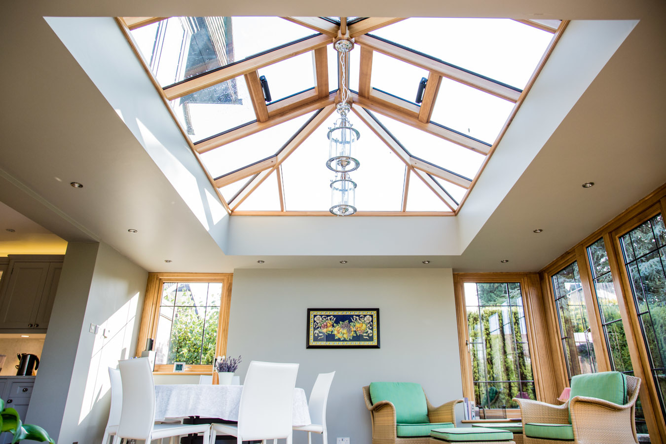How much does a wood orangery cost? | Oak Conservatories