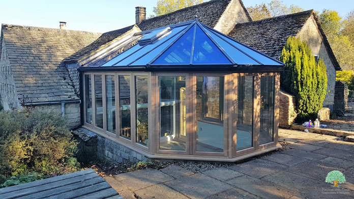 Listed Property Oak Conservatory