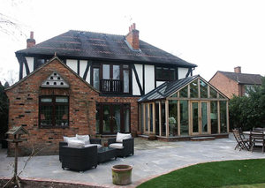 Luxury Hardwood Conservatory