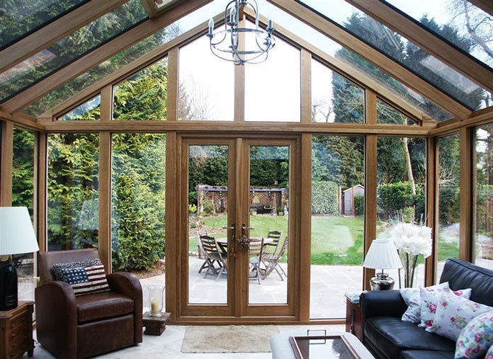 Luxury Timber Conservatory
