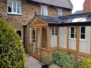 Luxury Wood Conservatory