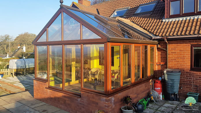 Luxury Wooden Conservatory
