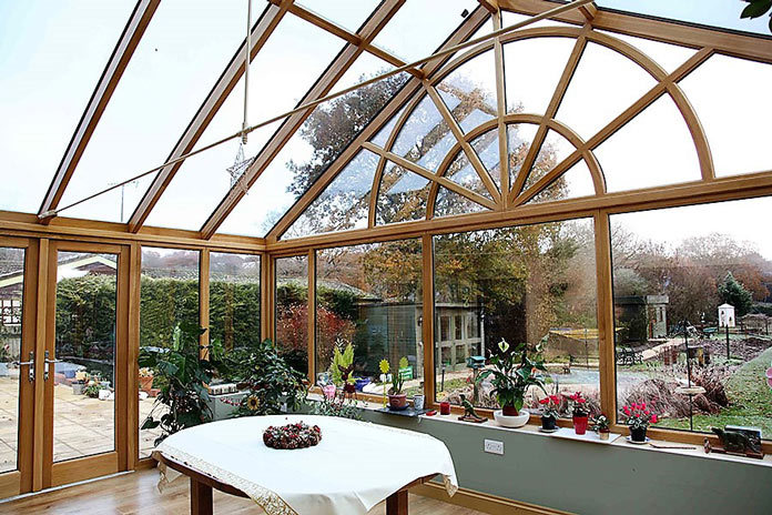 Seasoned Oak Conservatory