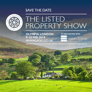 Wooden conservatory listed property show