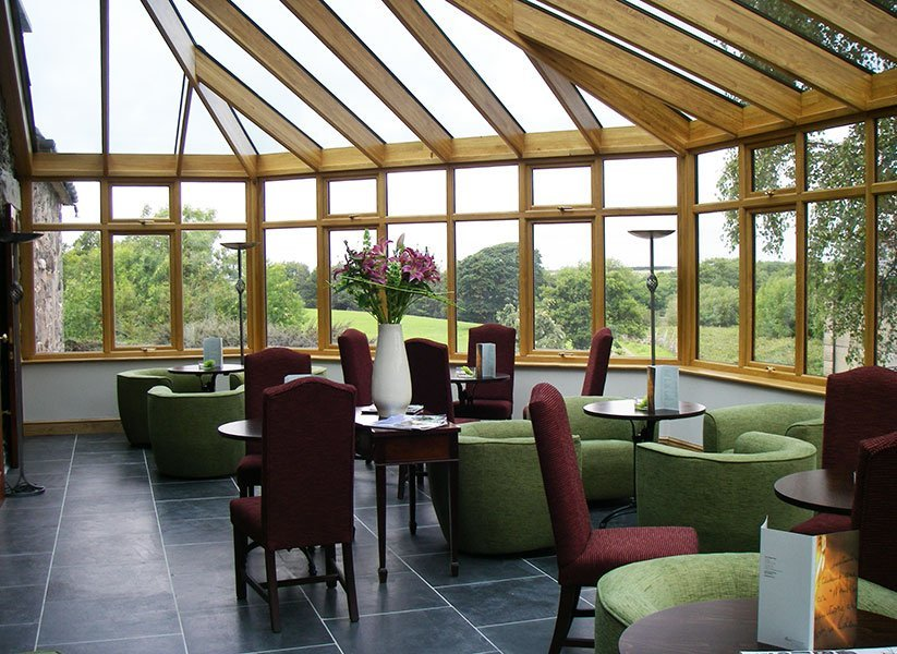 Oak Conservatory Restaurant Dining Area