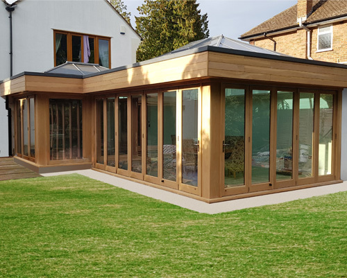 Browner Oak Contemporary Orangery