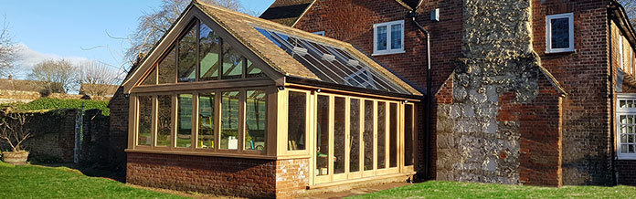 Improve your home with an Oak Framed Glazed Extension