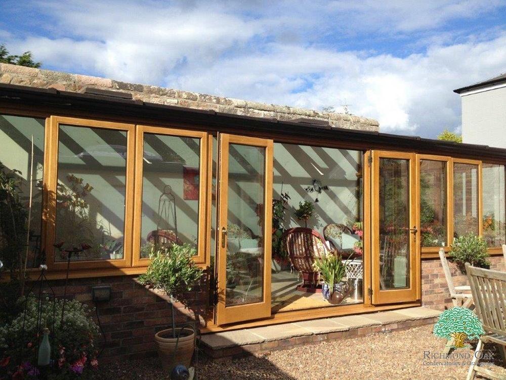 Oak Framed Sunroom