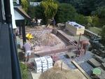 Oak Orangery building groundwork
