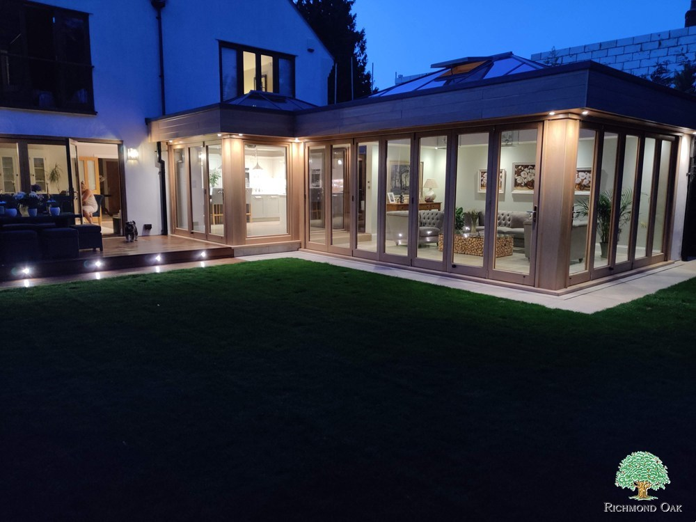 Contemporary Timber Orangery in Surrey