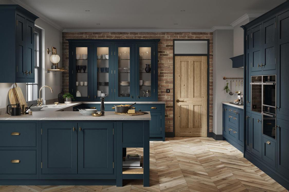 Clarendon Hartforth Blue