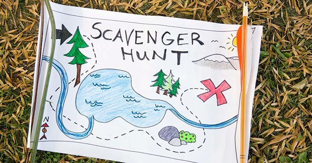 Create a Scavanger Hunt