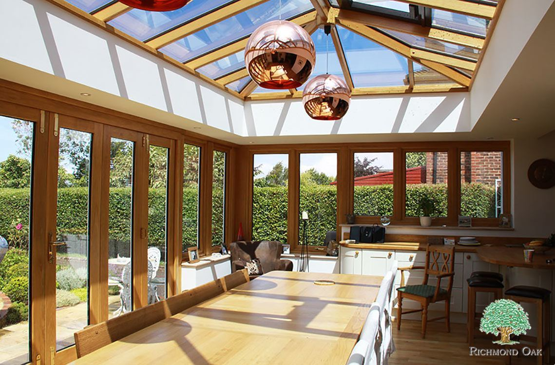 Hardwood Orangery - Kitchen Extension