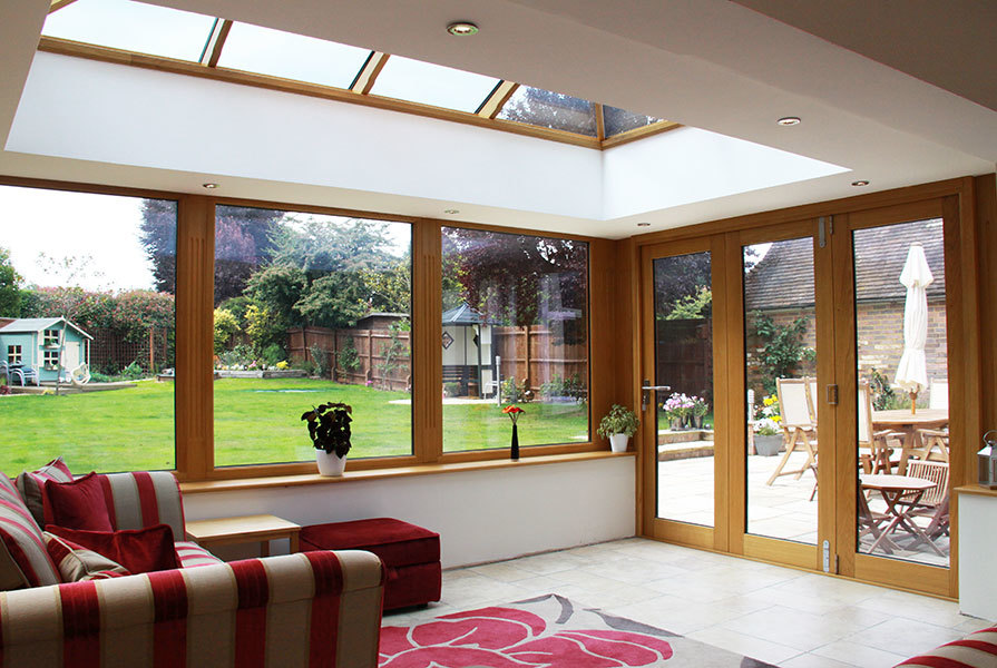 hardwood framed extensions