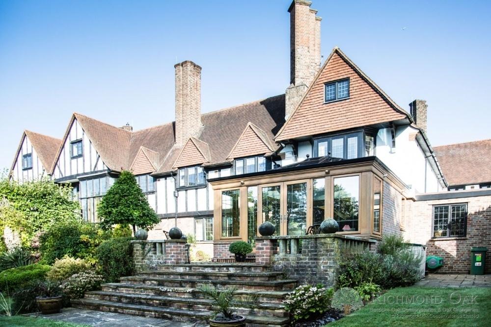 Luxury Seasoned Oak Orangery - Kent