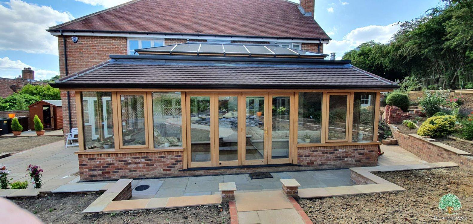oak framed extensions