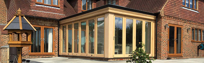 New Orangery for Spring