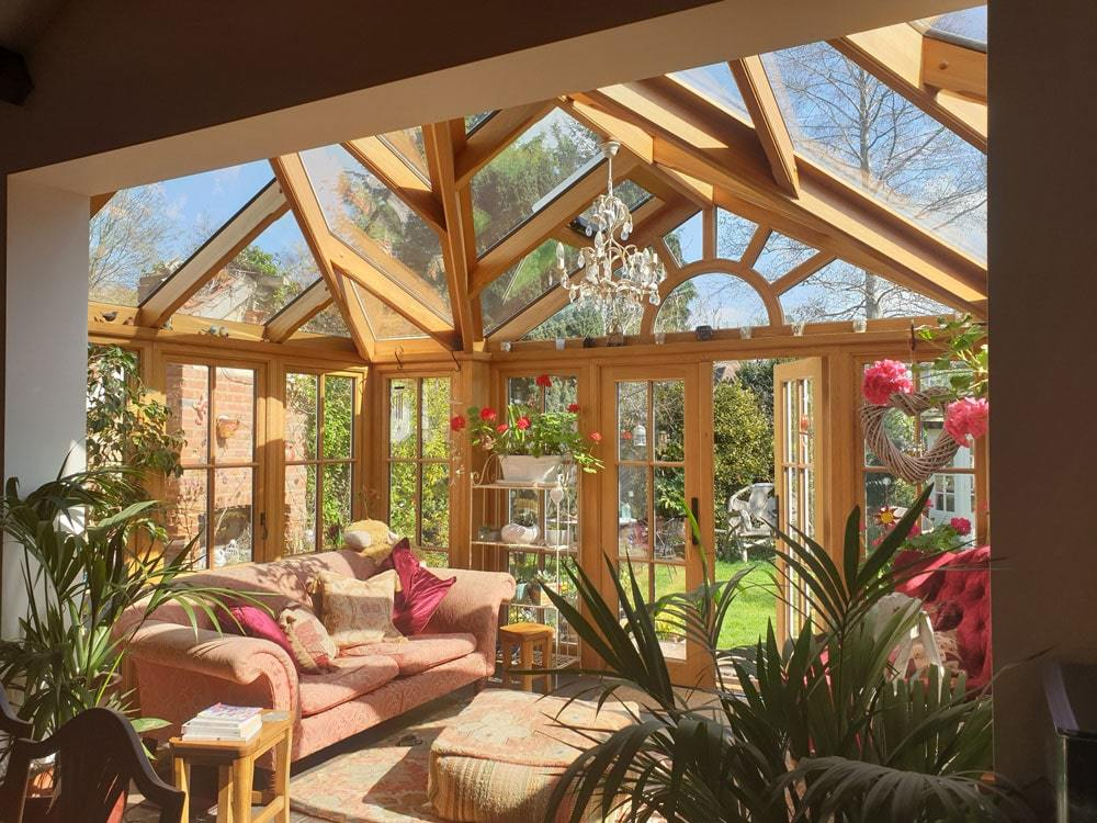 Wooden Conservatory (Victorian)