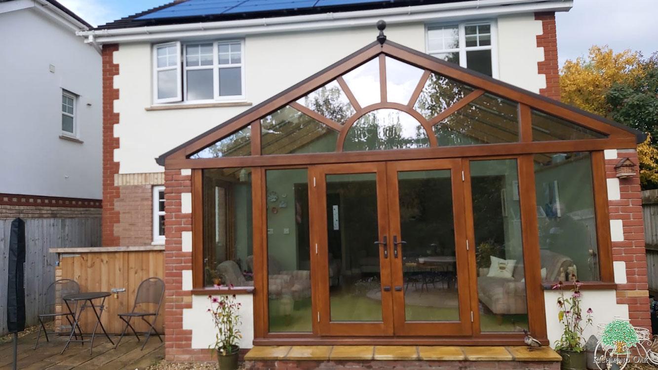 hardwood conservatory sussex
