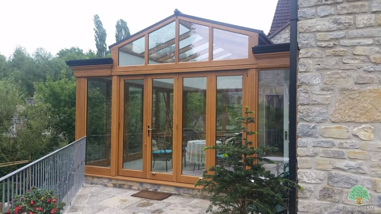 wooden conservatory sussex
