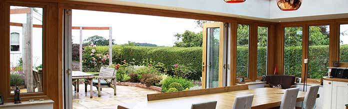 Richmond Oak Glazed Extensions